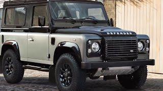 getlinkyoutube.com-Land Rover Defender AUTOBIOGRAPHY Final Limited Edition 2015 Land Rover Defender Interior CARJAM TV