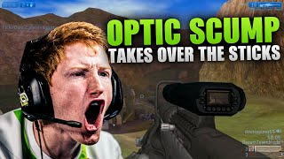 OPTIC SCUMP TAKES OVER THE STICKS!