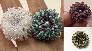 getlinkyoutube.com-Coral Flower Ring en Español