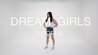 I.O.I - Dream Girls dance tutorial (mirror)거울모드 width=