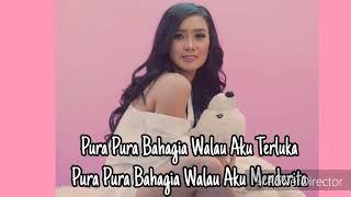 PURA PURA BAHAGIA - CITA CITATA ( Video Lyrics )  New Single Cita Citata