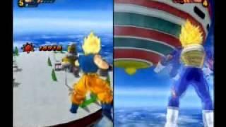 getlinkyoutube.com-Dragonball Z Budokai Tenkaichi 3 - Goku & Vegeta's Clashes (All Forms) - 1/4