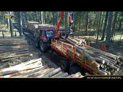 HYDROFAST H11 Przyczepa do zrywki drewna
