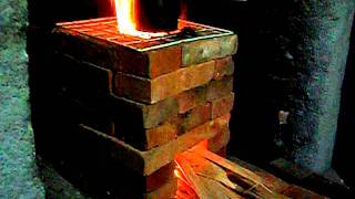 getlinkyoutube.com-FOGÃO A LENHA  DO FRANZ (ROCKET STOVE)