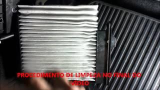 getlinkyoutube.com-Substituição do filtro de cabine a/c NISSAN LIVINA, XGEAR, TIIDA