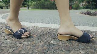 getlinkyoutube.com-iSole Interchangeable Ladies Sandals (Liam - Flats)