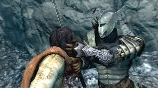 getlinkyoutube.com-The Elder Scrolls Skyrim Funny/Brutal Kill Compilation Vol.2 (Fus Roh Dah/Bow/Cliff)