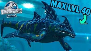 getlinkyoutube.com-NEW VIP PLOTOSAURUS MAX LVL 40! - Jurassic World The Game - *NEW VIP AQUATIC CREATURE* HD