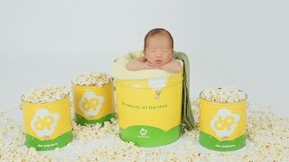 getlinkyoutube.com-Newborn Baby Boy photographed in Popcorn and with Family by Ana Brandt