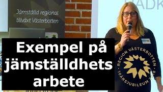 Jämställdhet - Exempel på jämställdhetsarbete - IUC Norr