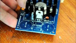 getlinkyoutube.com-The LM338 Variable Power supply kit from www.engineeringshock.com