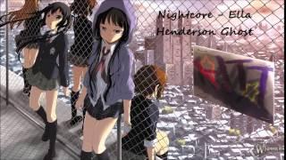 getlinkyoutube.com-Nightcore - Ella Henderson Ghost