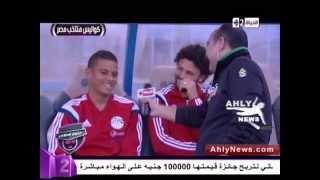 getlinkyoutube.com-كوميديا سعد سمير وحسام غالى بالمنتخب