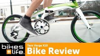 Verge X10 - Fast and Lightweight Tern Folding Bike