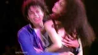 Tatiana Thumbtzen Kissing Michael Jackson Onstage (1988)