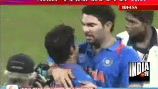 getlinkyoutube.com-Dhoni Was A 'Bomb About To Explode' Before Final: Yuvraj Singh