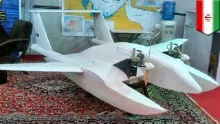 getlinkyoutube.com-드론, 이제는 전쟁용? 이란 해군, 특화된 자살폭탄 드론 공개