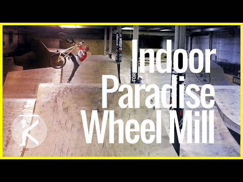 The Wheel Mill Indoor Mountain Bike Park in Pittsburgh