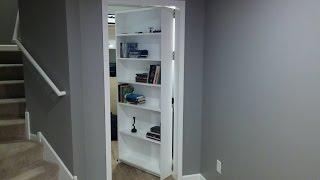 getlinkyoutube.com-Secret door, room. Bookcase - door. Safe. Gun storage