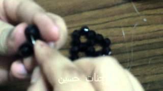 getlinkyoutube.com-طريقه عمل مفرش سداسي  مستطيل من الخرز