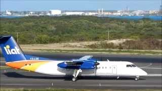 getlinkyoutube.com-Liat Dash 8-300 + ATR 72-600 / 42-600 Sunset Departures 1080p HD