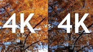 getlinkyoutube.com-DSLM 4K VS. Smartphone 4K: Side By Side Comparisons