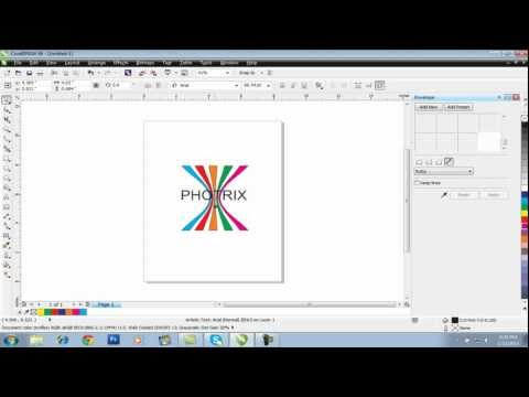 easy logo designing in corel draw
