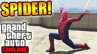 getlinkyoutube.com-Saviez-Vous Que ..? #27 : SPIDER MAN SUR GTA 5 ?!