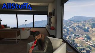 Stripper Dancing At My House!! GTA 5 Online (Funny Moments)