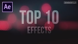 getlinkyoutube.com-Top 10 Best Effects in After Effects