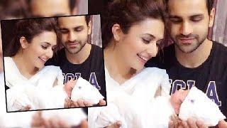 getlinkyoutube.com-Divyanka Tripathi & Vivek Dahiya With A CUTE Baby