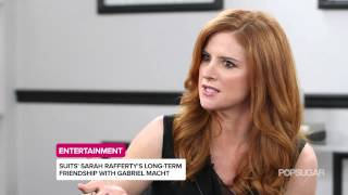 getlinkyoutube.com-Suits Star Sarah Rafferty Reveals Hints About the Season Finale