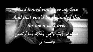 getlinkyoutube.com-Adele - Someone Like You مترجمه للعربي