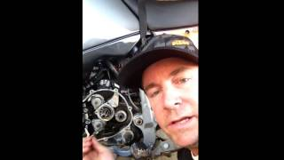 getlinkyoutube.com-Ktm LC4 main shaft bearing replacement