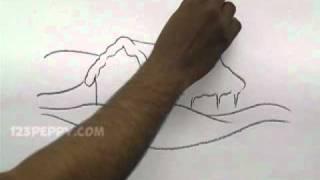 getlinkyoutube.com-How to Draw a Winter House