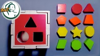 getlinkyoutube.com-Learn color for kids with shape sorting cube classic toy