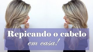 getlinkyoutube.com-Como cortar/repicar seu cabelo sozinha - por Suenny Sousa