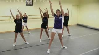 getlinkyoutube.com-How to Do Cheerleading Dance Combinations