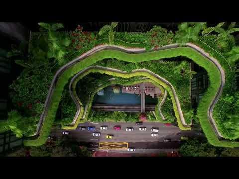 PARKROYAL on Pickering 5* - ботанический сад прямо в отеле Сингапура!