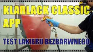 getlinkyoutube.com-Lakier APP Acryl Klarlack Classic - TEST