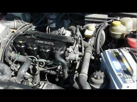 Opel Astra F 1.7d diesel starting