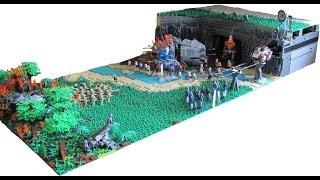 HUGE Lego Star Wars Clone Base on Mandalore