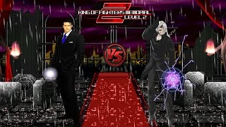getlinkyoutube.com-[KOF Memorial Lv.2 Red Edition GamePlay] Gustab M. (Me) vs Element (Cpu)