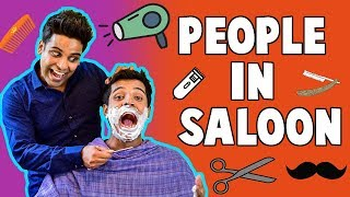 PEOPLE IN SALOON | The Half-Ticket Shows
