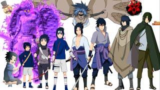 getlinkyoutube.com-Naruto characters: Uchiha Sasuke's evolution