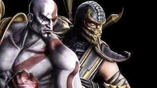 getlinkyoutube.com-Mortal Kombat 9 - Kratos/Scorpion Tag Ladder (EXPERT)