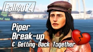 getlinkyoutube.com-Fallout 4 - Piper Romance - Breaking Up & Getting Back Together