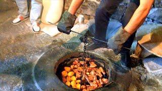 getlinkyoutube.com-Armenia - Baking lavash in Garni village