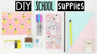 getlinkyoutube.com-DIY SCHOOL SUPPLIES For Back To School!