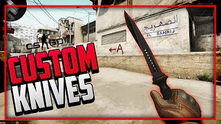 "getlinkyoutube.com-CSGO: ""Top 3 Custom Knives"" (CSGO Custom Knives showcase)"